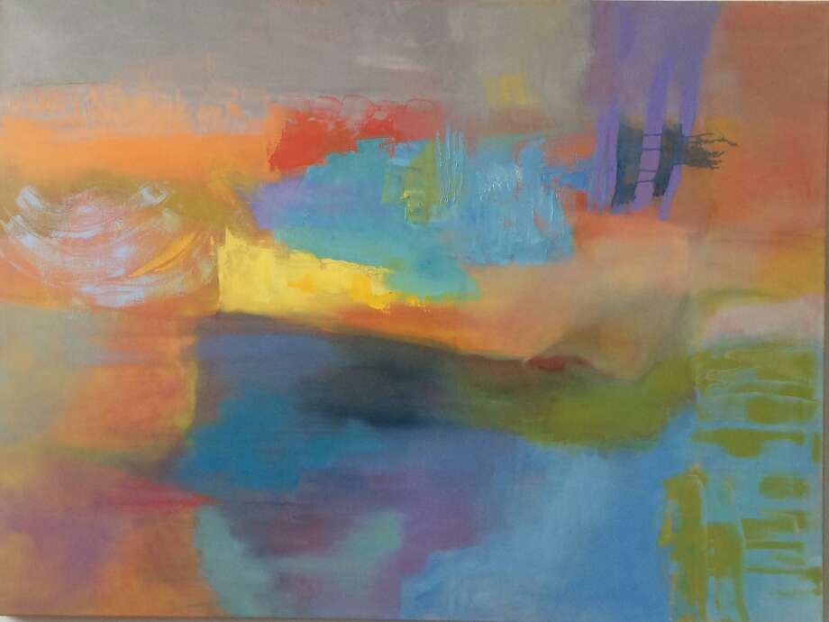The work of artist Lisa Hillman, above, is featured along with pieces by Nat Connacher and Lisa Cuscuna at the Mayor's Gallery in Stamford May 1-June 28. Photo: Mayor's Gallery / Contributed Photo