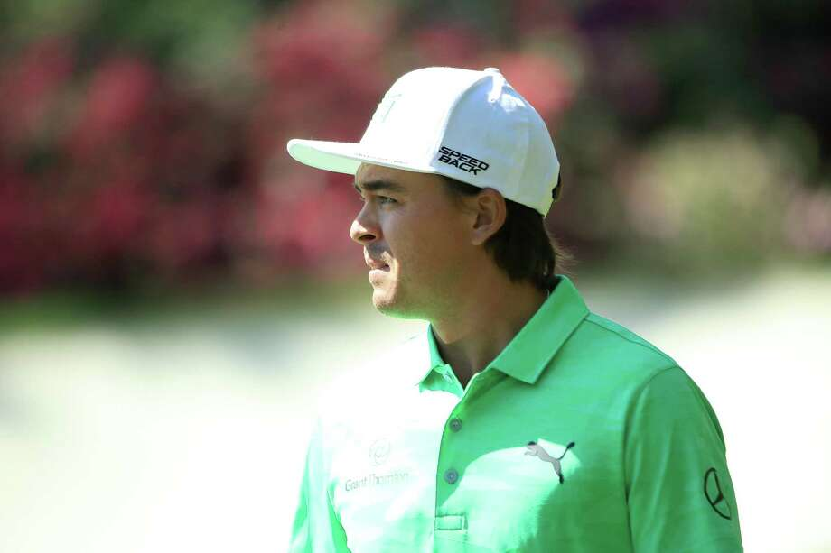 Rickie Fowler looks on during a practice round prior to the Masters at Augusta National Golf Club on Wednesday. Photo: Andrew Redington / Getty Images / 2019 Getty Images
