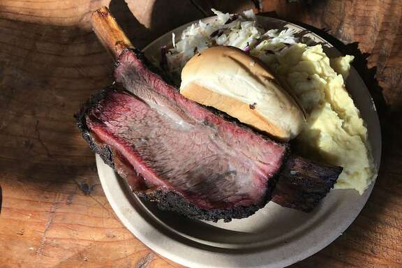 Smokin' Woods BBQ might be best known for its beef ribs.
