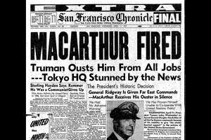 The April 11, 1951 front page of the San Francisco Chronicle