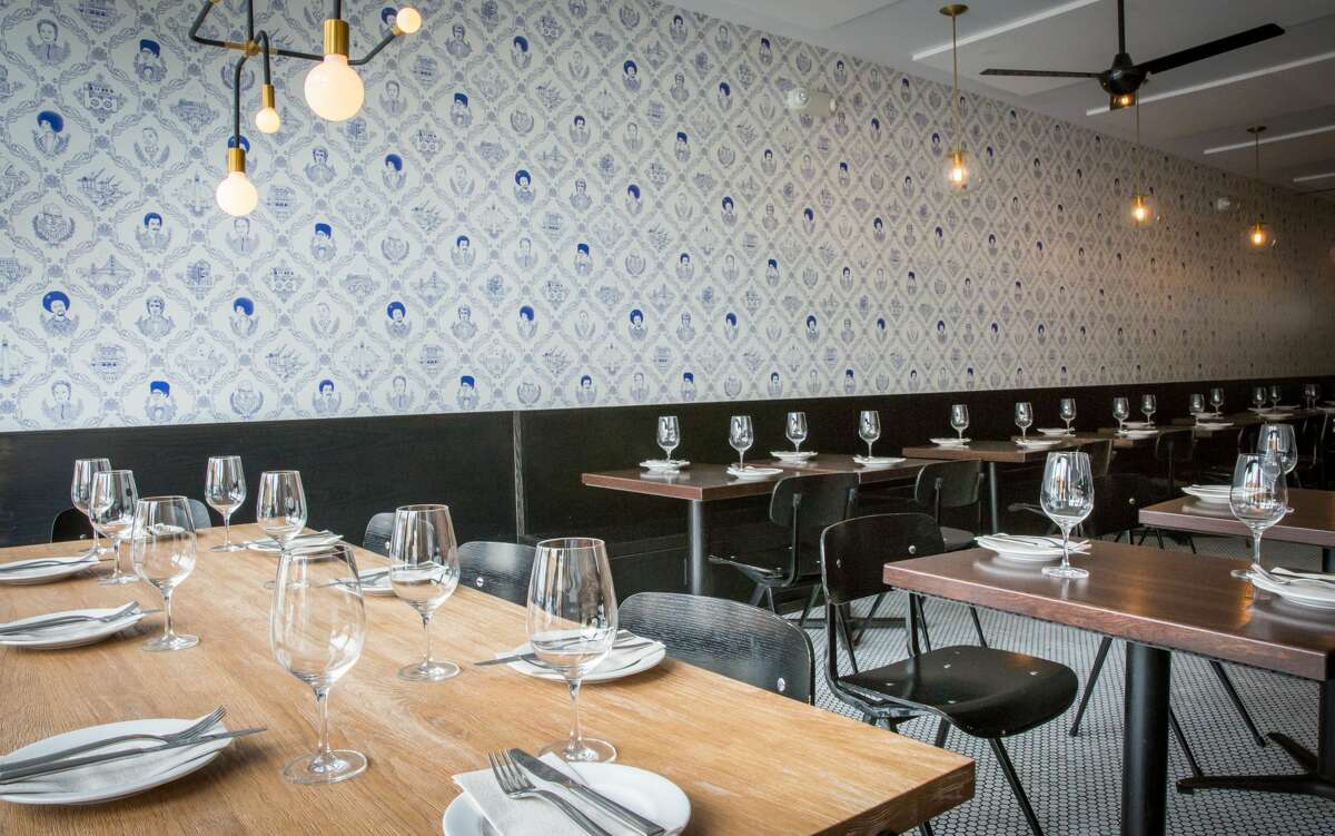 The restaurant Fiorella is known for its food ... and its Instagram-famous wallpaper. Called