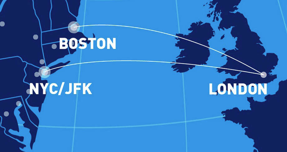 JetBlue will fly to London from Boston and New York JFK in 2021. Photo: JetBlue