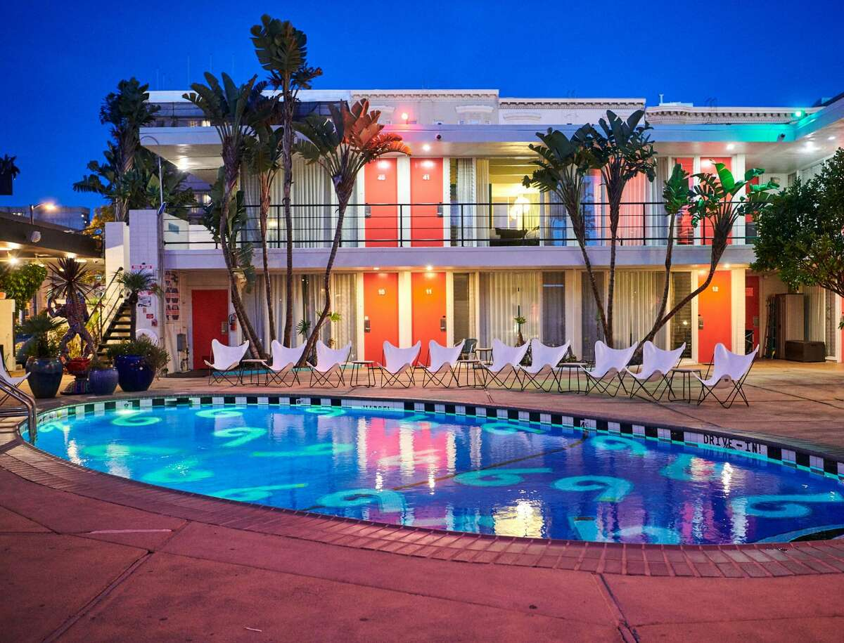 Chambers (601 Eddy St., SF): The rock and roll vibe of the Phoenix Hotel goes poolside.