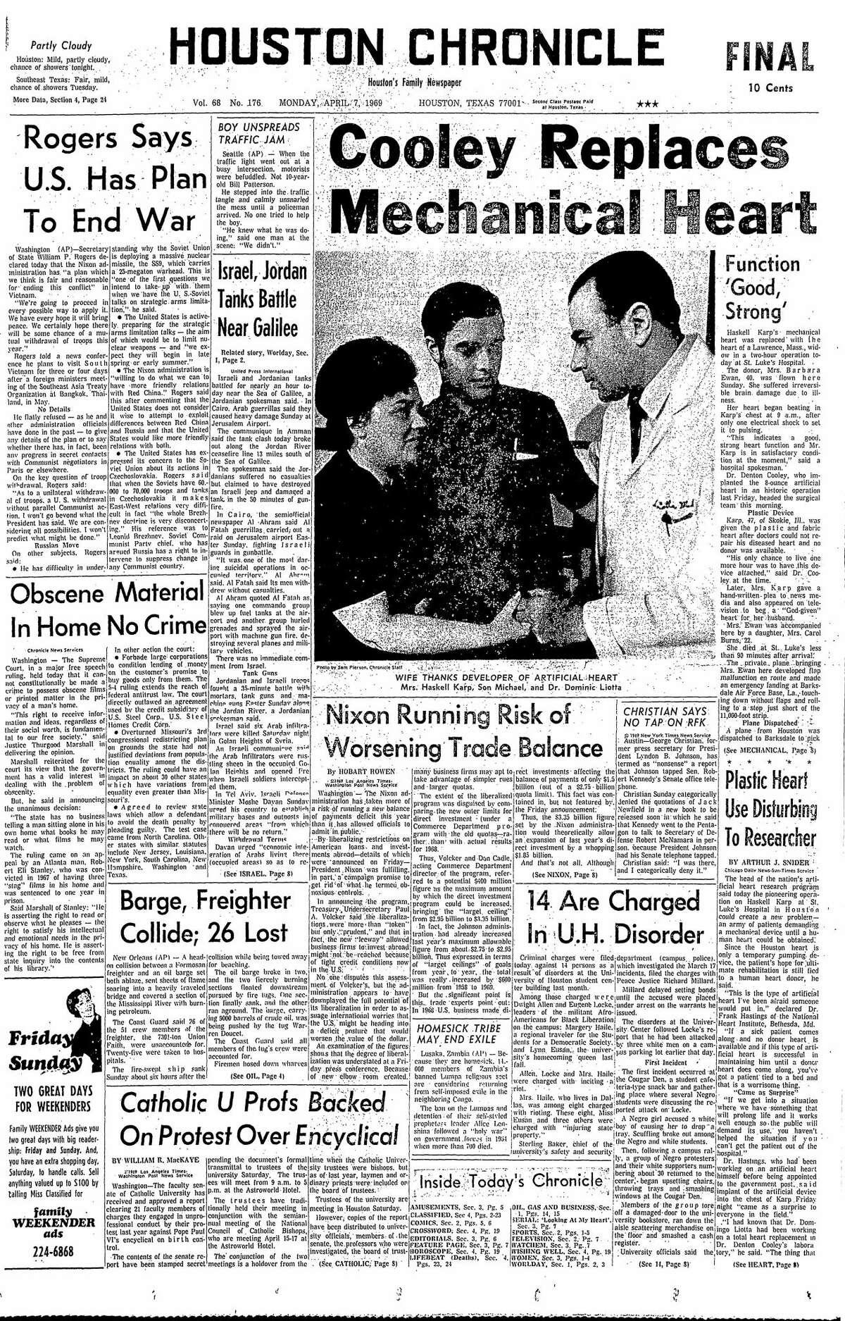 April 7, 1969