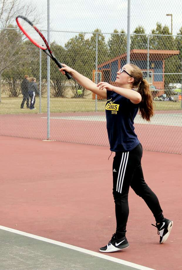 EPBP at Bad Axe — Tennis Photo: Mike Gallagher/Huron Daily Tribune