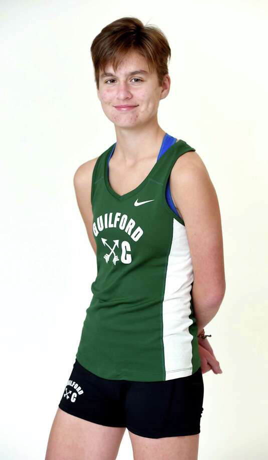 All-area cross country runner Meredith Bloss of Guilford High School photographed on November 13, 2018. Photo: Arnold Gold / Hearst Connecticut Media / New Haven Register