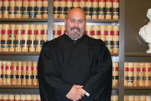 Judge Scott D. Gallina was arrested Wednesday on suspicion of sexual misconduct that could lead to rape and assault charges.
