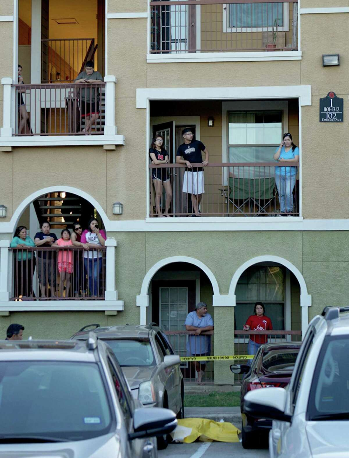 woman was killed Tuesday afternoon in a South Side apartment complex and a second woman is in critical condition. San Antonio Police Department Sgt. Roy Miller said the two women were shot at about 7 p.m. in the parking lot of the Rosemont at University Park apartments, 102 Emerald Ash. The suspect, who police say is a juvenile, fled the scene after the shooting. One woman was pronounced dead at the scene and a second was taken to San Antonio Military Medical Center. Miller said both women appear to be in their 30s.
