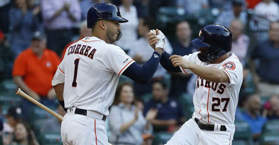 new style daa70 205a8 José Altuve sparks Astros to first series sweep of Yankees ...