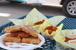 The RockHounds gave us a preview of menu items making their debut today and some popular favorites.