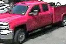 Norwalk detectives are attempting to identify the owner or operator of a red vehicle regarding an investigation. Anyone with any information is asked to contact Detective Fitzmaurice (203) 854-3180.