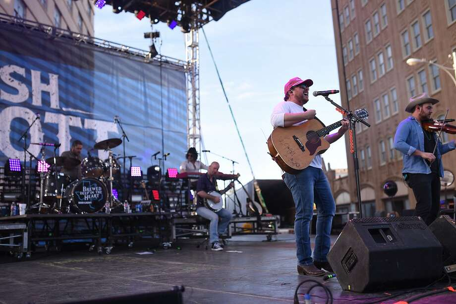 The Josh Abbott Band drive-in concert planned for Friday at the Wagner Noel Performing Arts Center has been canceled, the venue posted on its Facebook page. The cancellation is because of logistics and travel concerns caused by Hurricane Laura. Photo: James Durbin
