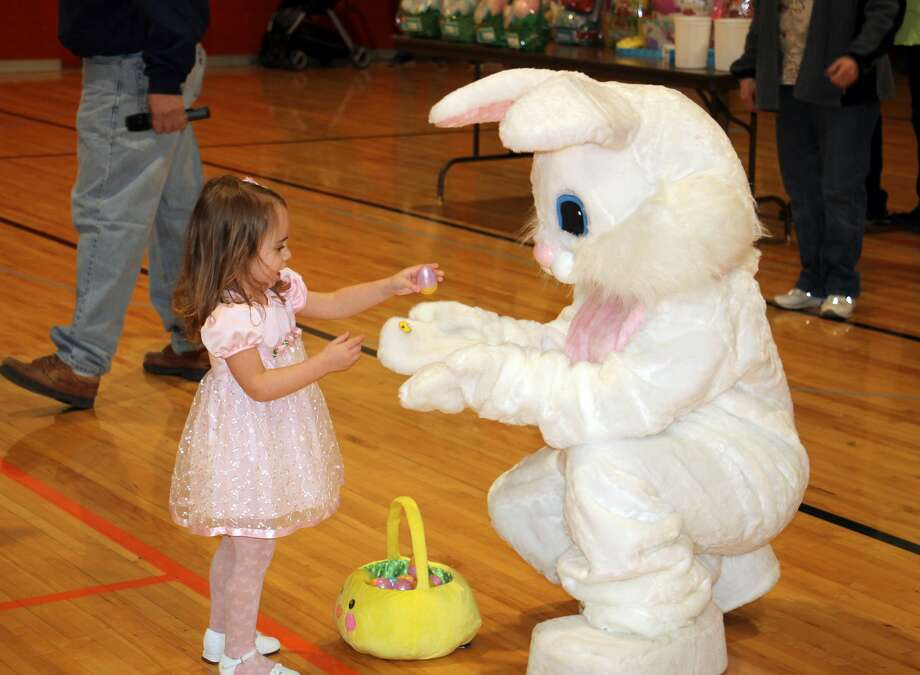 Scenes from last year's Easter egg hunts around the Thumb area. Photo: Tribune File Photo