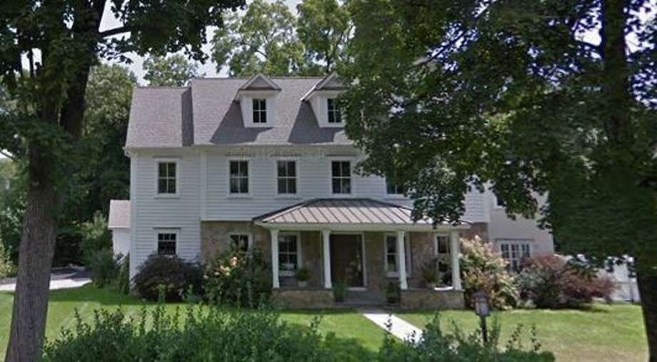 240 South Ave. in New Canaan sold for $1,875,000. Photo: Google Street View