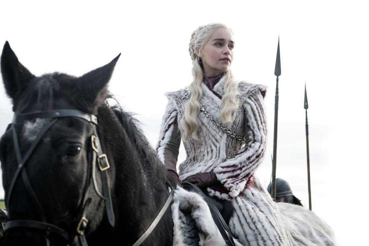 Daenerys Targaryen (Emilia Clarke) is focused on a greater threat than the game described in the series' title.