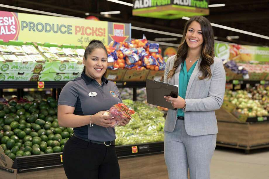 Since opening its first store in Iowa in 1976, ALDI US has more than 1,700 stores across 35 states and over 5,600 stores worldwide, all focused on operating on the buisnesses' three core values: consistency, simplicity, responsibility. . Photo: Tim Klein / ©2018 Tim Klein
