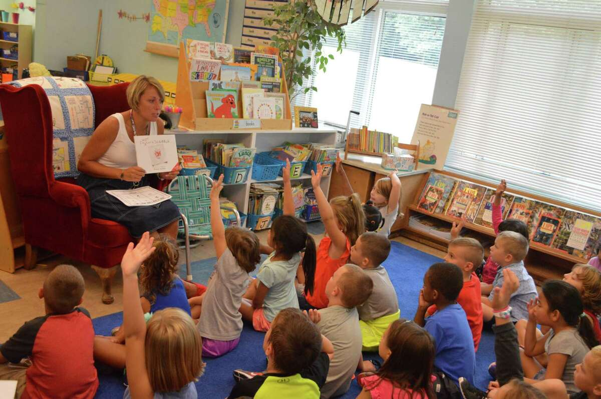 East Greenbush Central School District educates approximately 4,000 students. The district has seven schools - one high school, one middle school and five neighborhood elementary schools. Classroom photo submitted by the district is dated September 7, 2018.