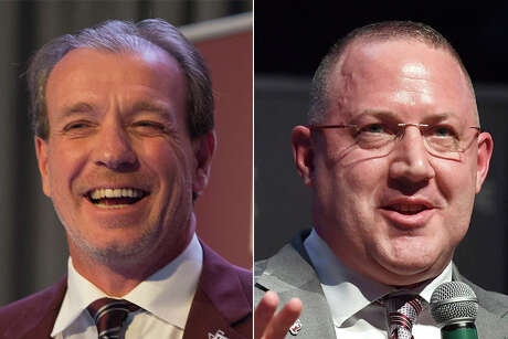 The recent hirings of football coach Jimbo Fisher, left, and men's basketball coach Buzz Williams show Texas A&M's willingness to open up the checkbook to bring in marquee coaches.