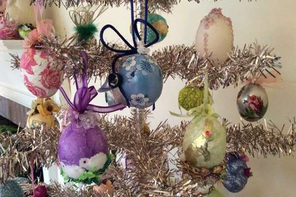 Every spring for the last 50 years, Barbara Freeman has signed up participants for her intensive three-hour class in egg decoration in Greenwich.