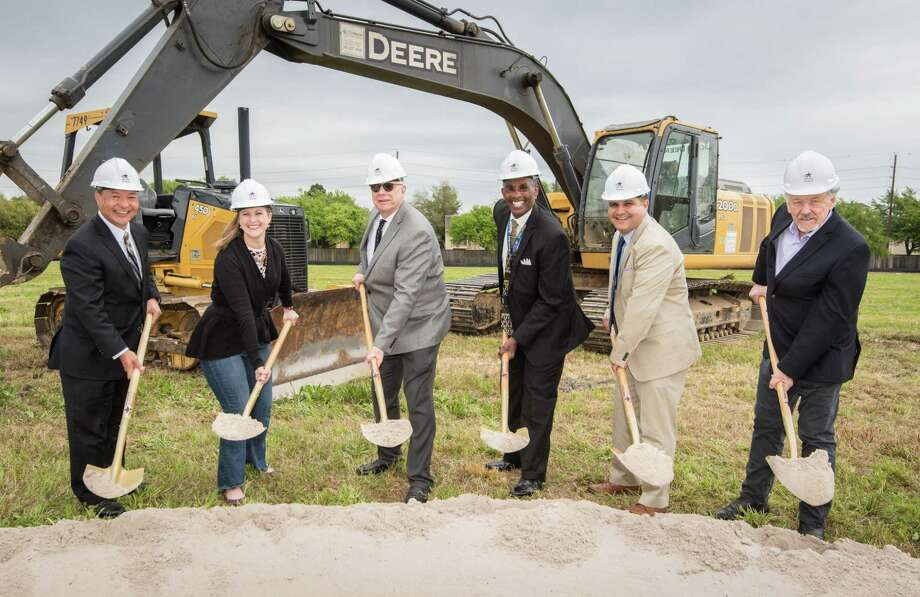 Harris County Department of Education kicked off construction on a new, 47,970-square-foot school to replace Academic and Behavior School West at a ceremonial groundbreaking April 3, 2019, at 12772 Medfield Drive in southwest Houston. Photo: Harris County Department Of Education, STF / Dave Einsel/HCDE / Harris County Department of Education