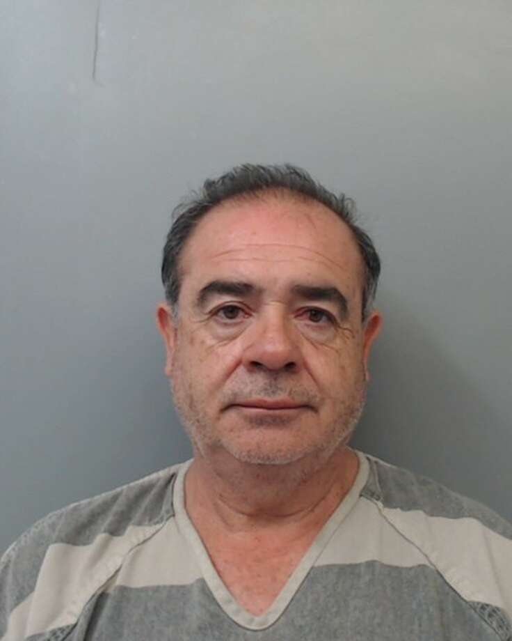 Fidel Gonzalez, 58, was charged with assault, family violence by impeding breath. Photo: Webb County Sheriff's Office