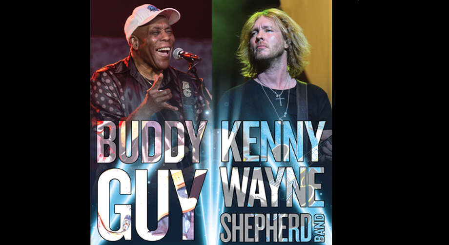 June 13: Buddy Guy and Kenny Wayne Shepard Band at Meadow Brook Amphitheatre on campus of Oakland University Photo: Www.313presents.com