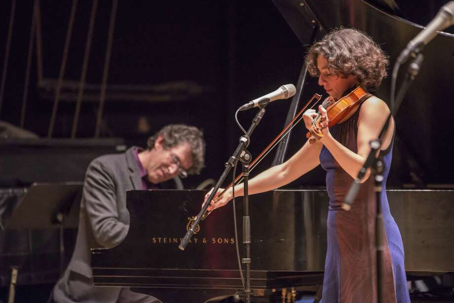 Hankus Netsky and Eden MacAdam-Somer will be live in concert at 2 p.m. Sunday, May 5, atthe Merfish Teen Center, 9000 S. Rice Ave. Photo: Courtesy Photo