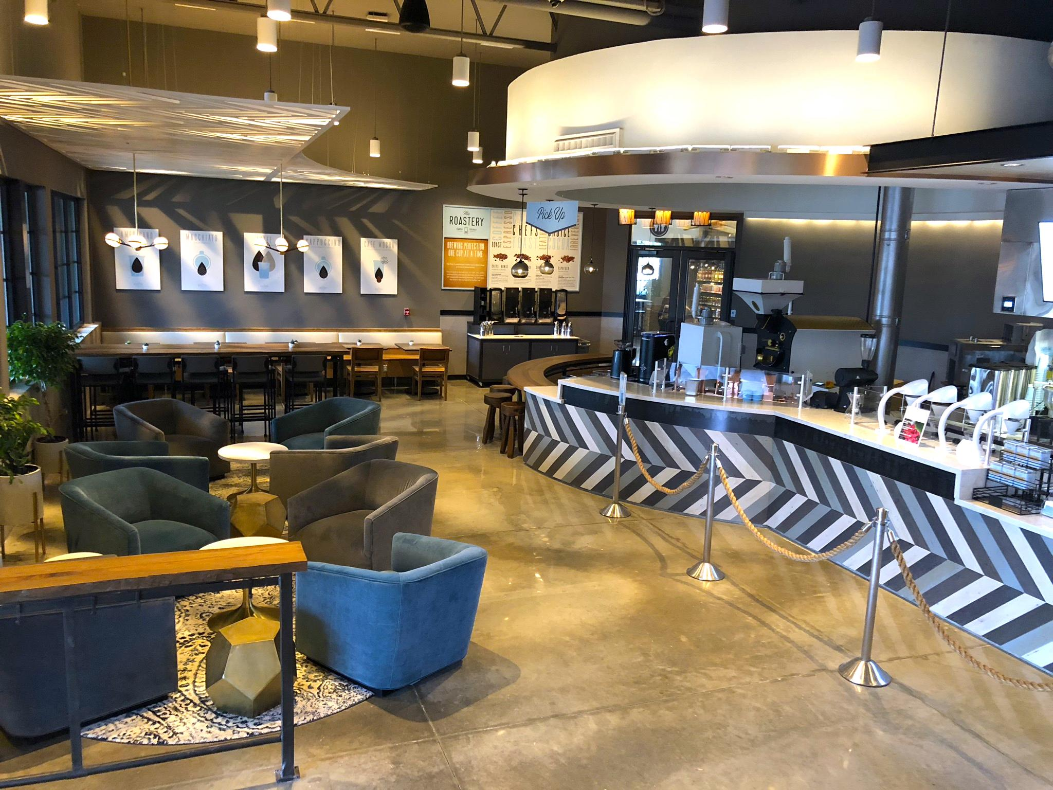 The roastery coffee kitchen opens flagship location attached to san felipe h e b houston chronicle