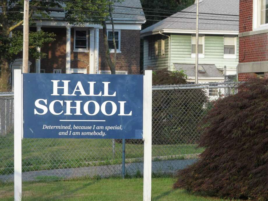 Hall School on Clermont Avenue. Photo: Denis O'Malley / Denis O'Malley / Connecticut Post