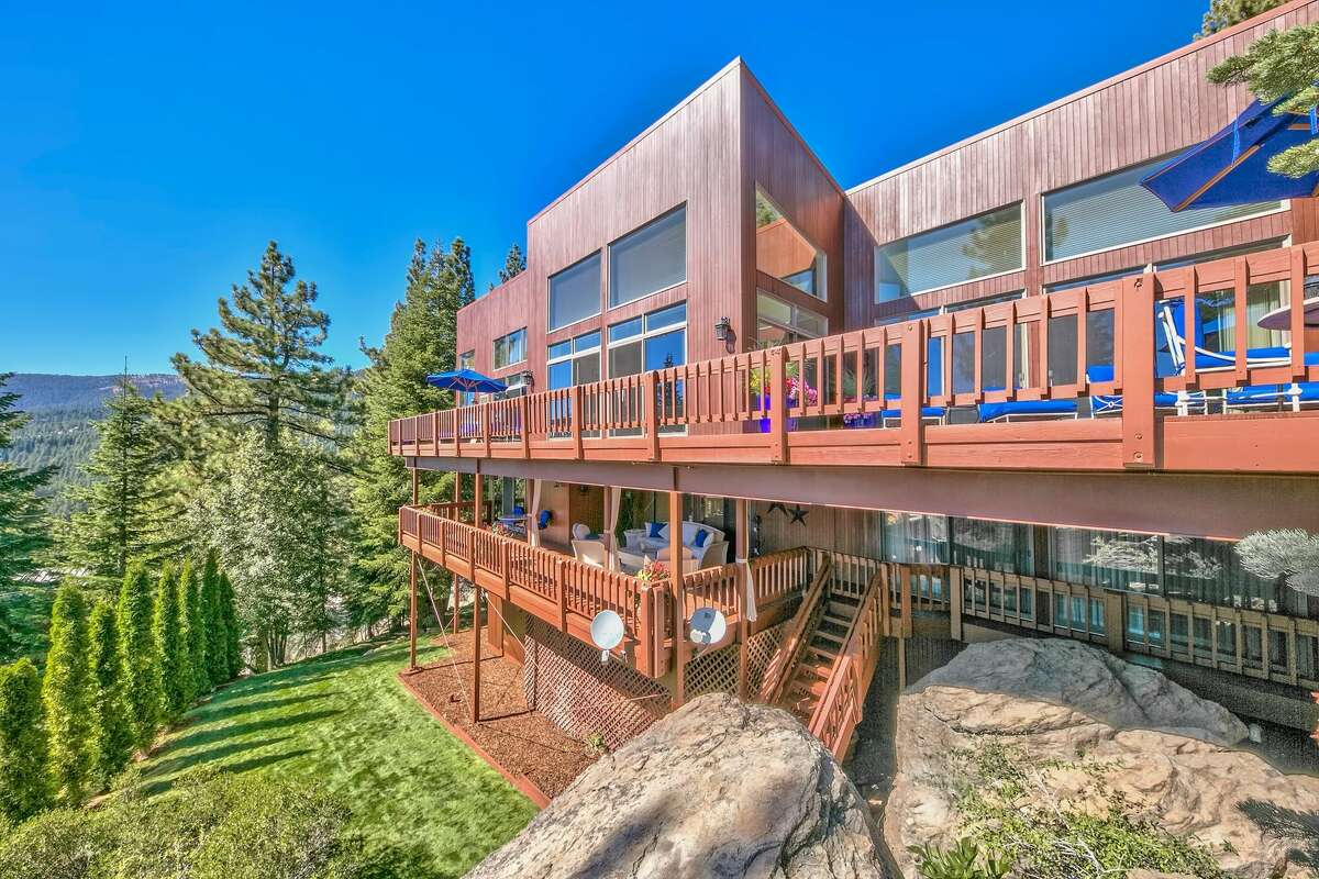 Whitesnake frontman David Coverdale is listing his Lake Tahoe compound for $9.85 million.