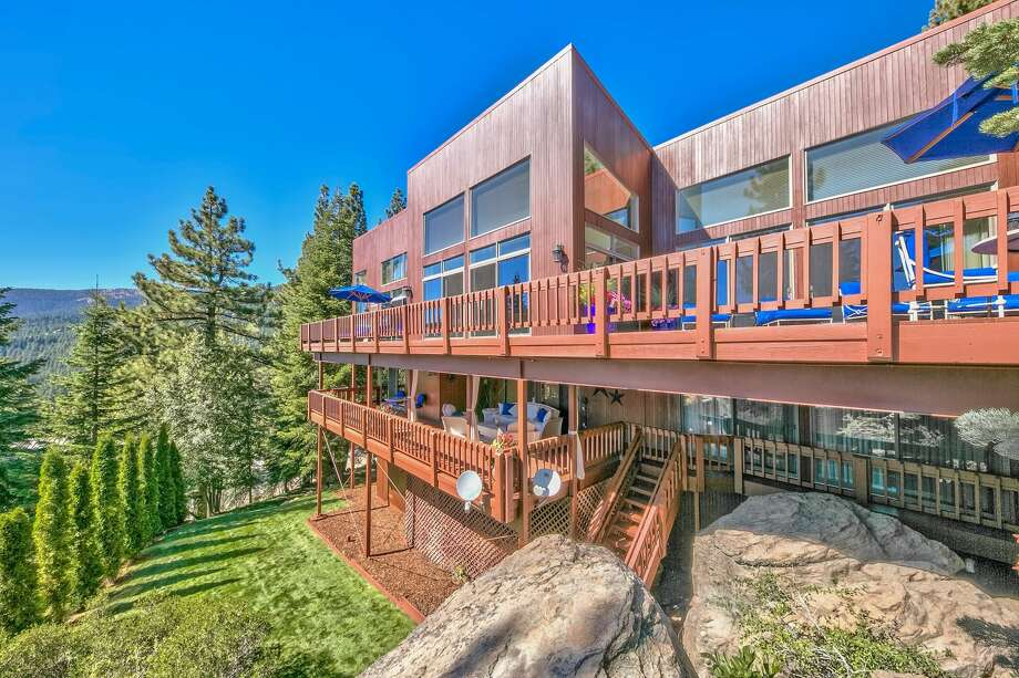 Whitesnake frontman David Coverdale is listing his Lake Tahoe compound for $9.85 million. Photo: Peter Tye / Steve Mitchell