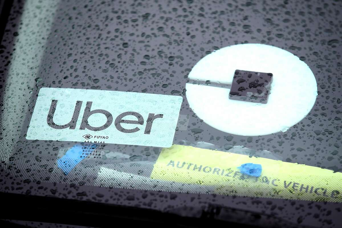 SAN FRANCISCO, CALIFORNIA - MARCH 22: The Uber logo is displayed on a car on March 22, 2019 in San Francisco, California. Uber Technologies Inc. announced that it has selected the New York Stock Exchange for its much anticipated initial public offering that could be one of the top five IPOs in history. The listing could value the ride sharing company at over $120 billion. (Photo by Justin Sullivan/Getty Images)