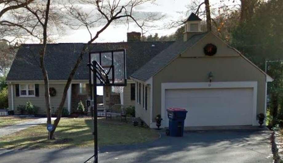 11 Hemlock Trail in Trumbull sold for $679,000. Photo: Google Street View