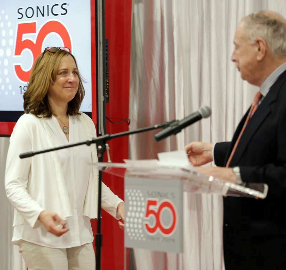 Westporter Lauren Soloff was named President of Newtown-based Sonics & Materials, Inc. on April 5. Photo: Contributed / Contributed Photo / Sandro Art & Photography LLC