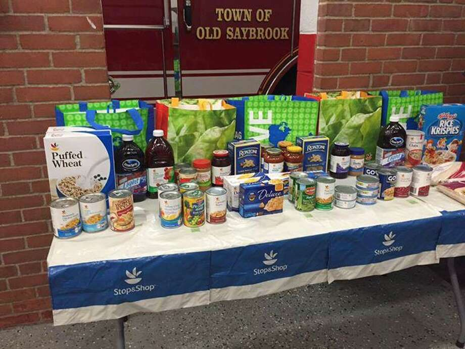 Fire departments and companies are gearing up for the regional food drive to support shoreline soup kitchens and food pantries on Saturday, April 27, 2019. Photo: Contributed Photo