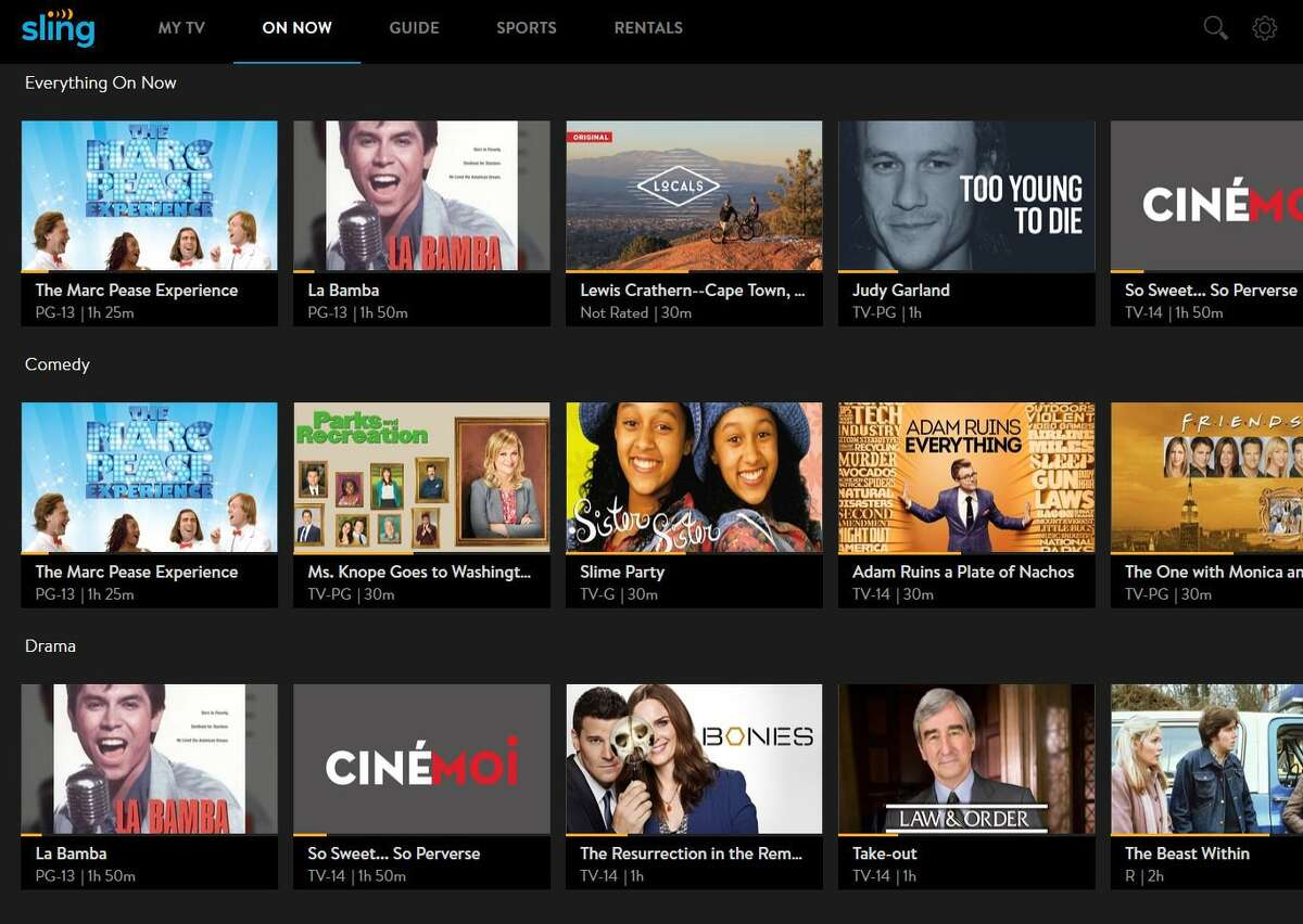 Dish Network's Sling TV, unlike its competitors, has not recently hiked its prices.