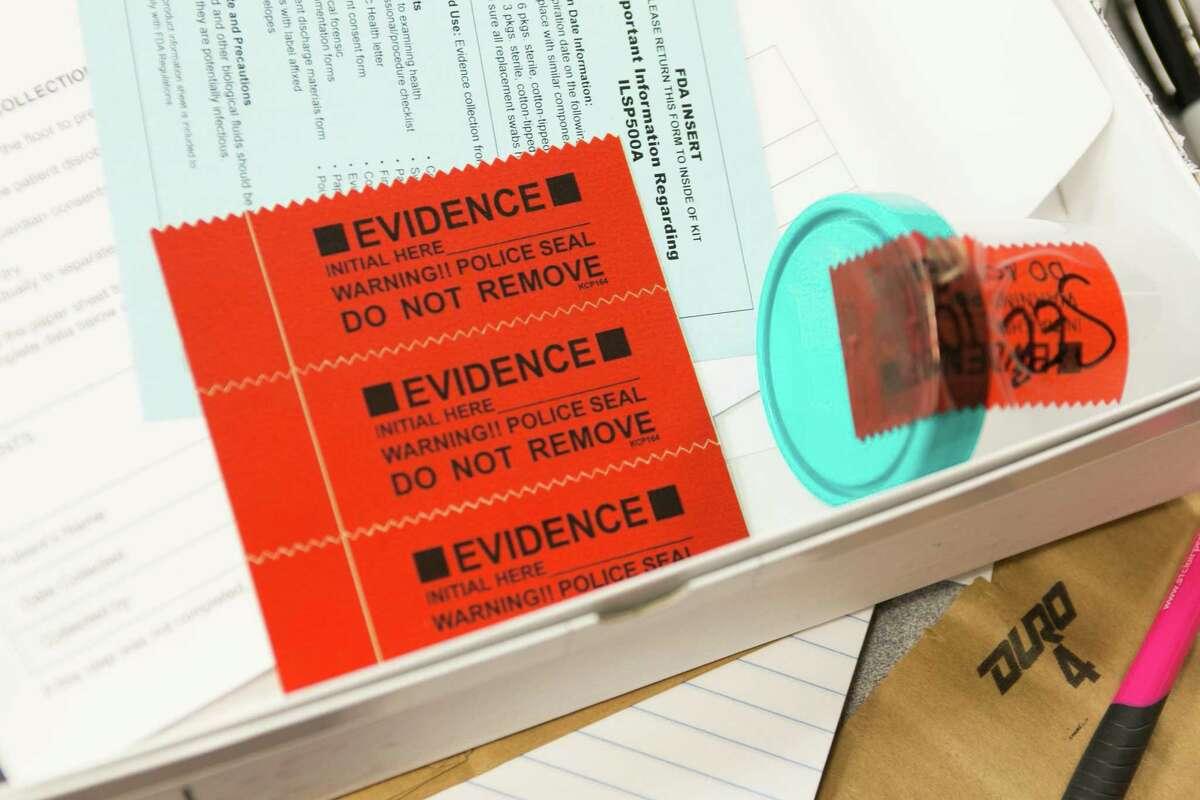Rape kit (Kristan Lieb/For the Chicago Tribune/TNS)