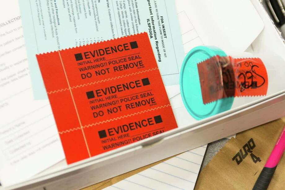 Rape kit (Kristan Lieb/For the Chicago Tribune/TNS) Photo: Kristan Lieb / TNS / Chicago Tribune