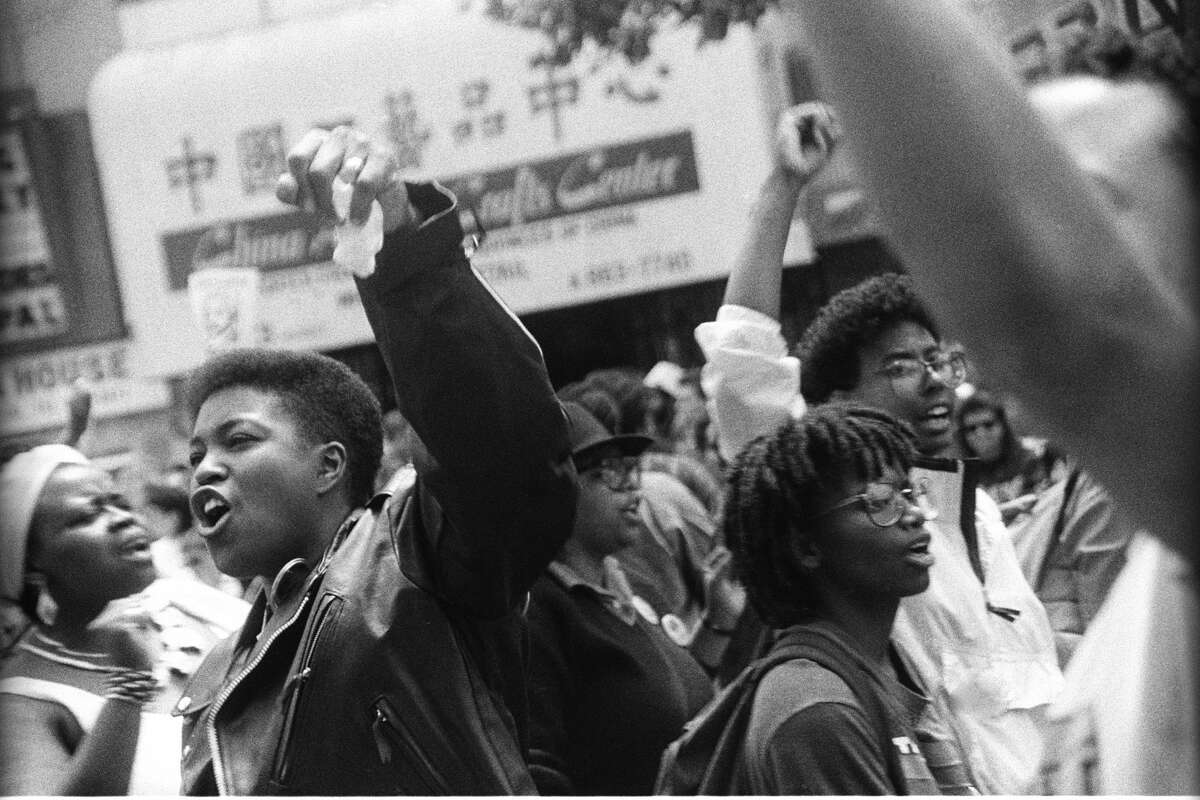 This photo of the black lesbian contingent of the Pride Parade in June 1991 is one that will be featured in the