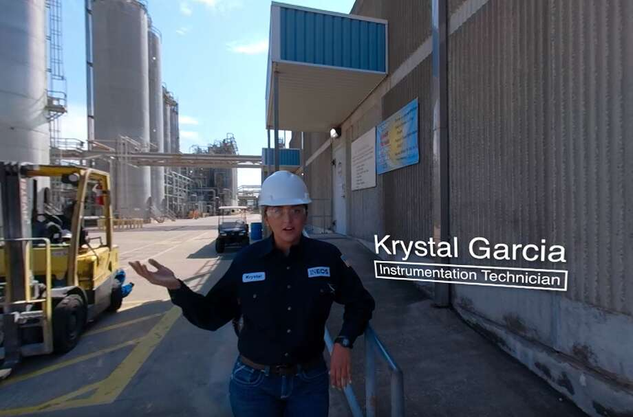 A screenshot of from the virtual reality tour of the Ineos' site in La Porte. Ineos has partnered with an industry group American Petrochemical and Fuel Manufacturers to launch a VR program aimed at educating the public about the petrochemical and refining industry. Photo: Courtesy Photo