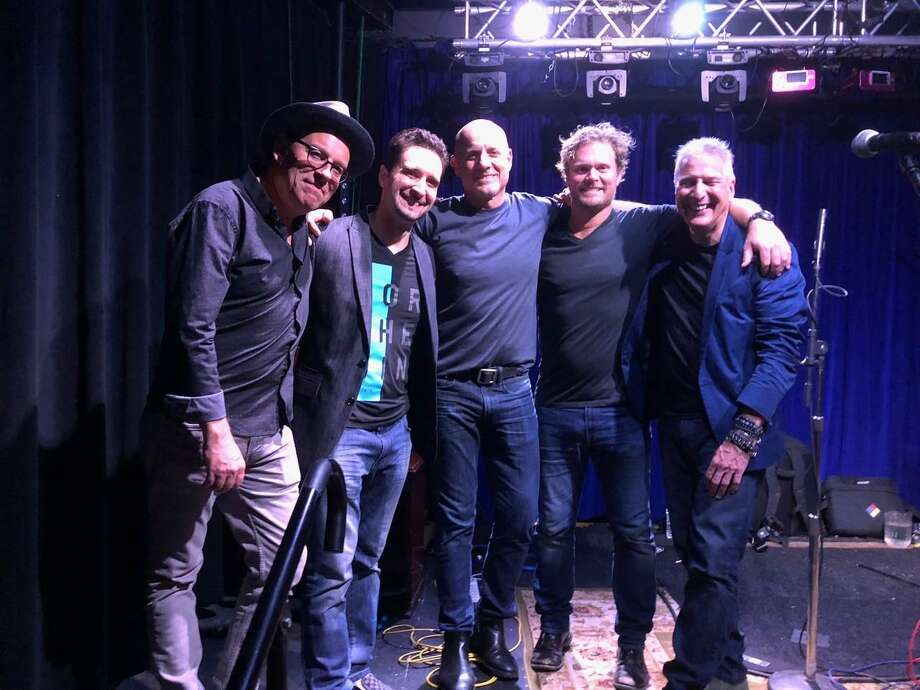 The Tom Petty Project, featuring Connecticut musicians Mark Bridgman, left, Glen Cavazzi, Pete Najarian Scott Persson and Phil LoPresti, will be at The Palace Danbury May 3. Photo: The Palace Danbury / Contributed Photo