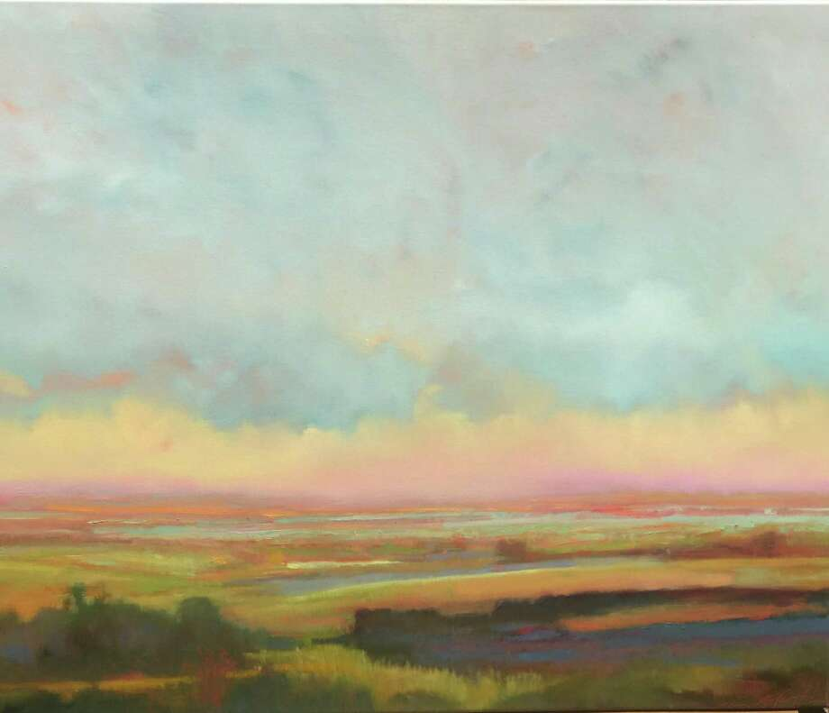 """Above is """"Morning Sunrise,"""" by William McCarthy, who will be leading """"Atmospheric Landscapes,"""" a two-day workshop at Norwalk's Rowayton Arts Center April 27 and 28. Photo: RAC / Contributed Photo"""