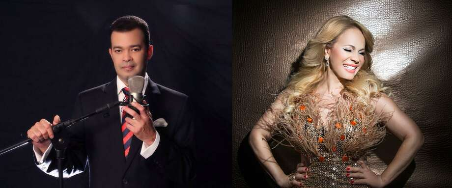 Dominican singers Alex Bueno and Miriam Cruz will perform at Stamford's Palace Theatre April 19. Photo: Palacestamford.org