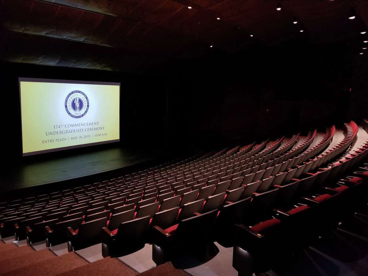 The Main Theatre of the PAC (photo courtesy UAlbany Performing Arts Center)