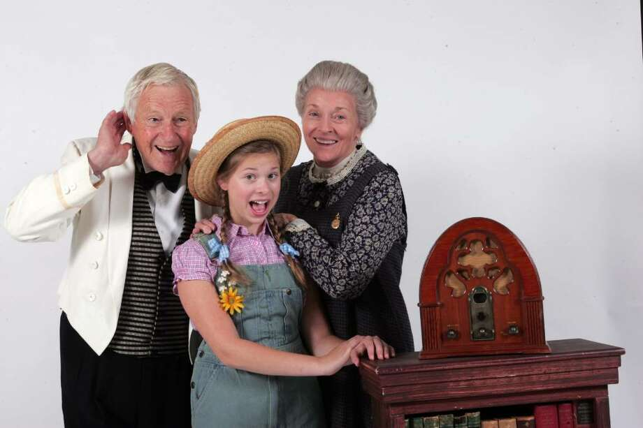 """Broadway veteran Orson Bean, Gabriella Malek and TV and stage veteran Lee Meriwether are starring """"Radio Girl,"""" a new musical that is being given a try-out run at the Goodspeed Opera House's developmental stage, the Norma Terris Theatre in Chester. Photo: Contributed Photo / Connecticut Post"""