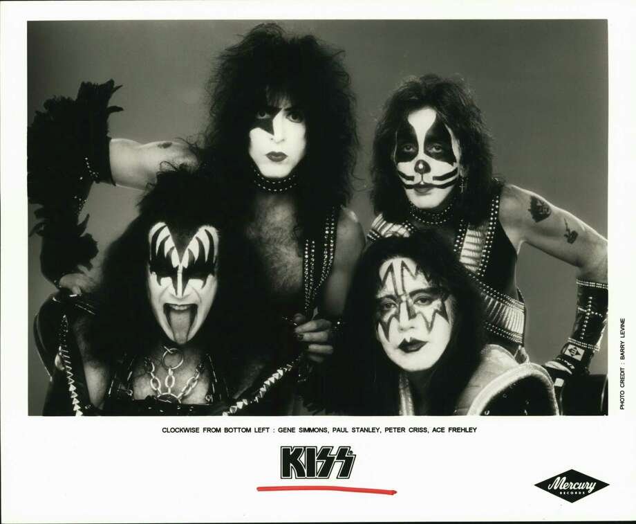Just like a certain president, the rock band Kiss horrified the elites, inspiring a devoted following that reveled in their scorn. Kiss band members loves America because they have lived the American dream. Photo: Mercury Records / Houston Chronicle