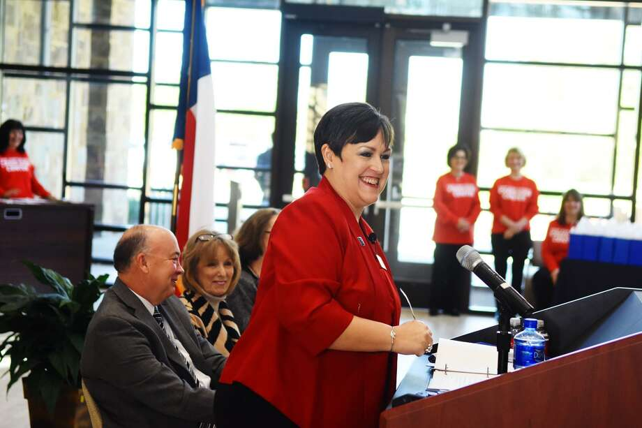 Long Star College - Tomball president Lee Ann Nutt is lobbying the Texas Legislature to pass HB 3165, which would accredit lifePATH, a program offered to students with cognitive disabilities. Photo: Tony Gaines, Photographer / Internal