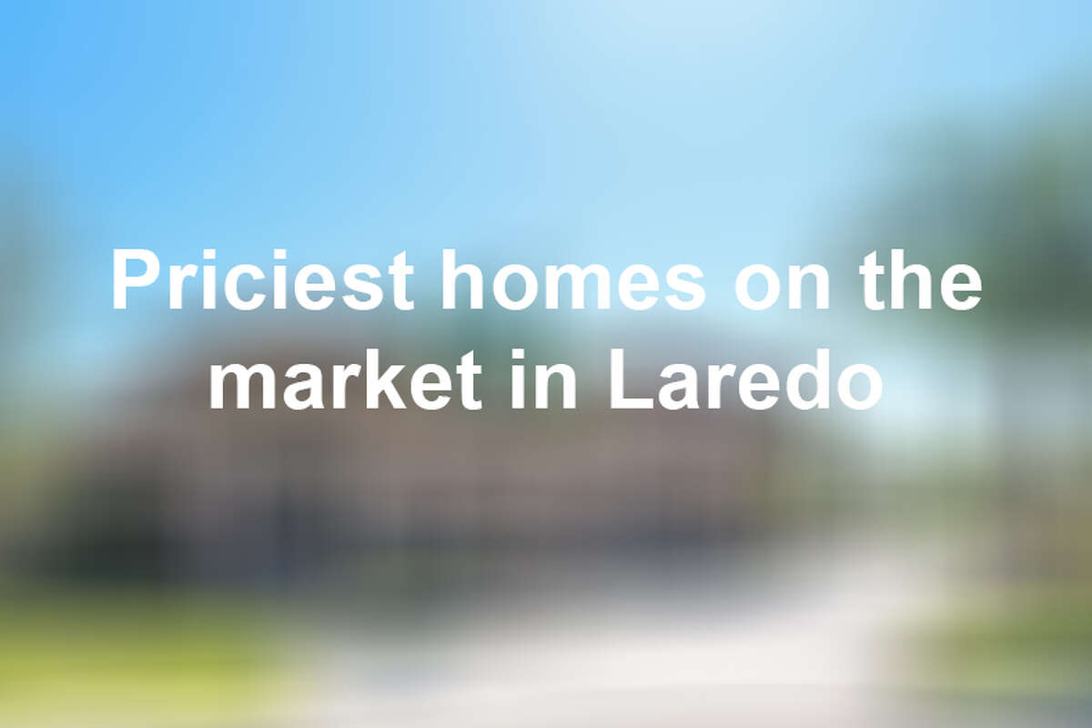 Keep scrolling to see some of the most expensive homes for sale in Laredo as of April 2019.