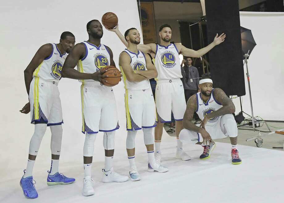 Click through the slideshow to see who will and won't be back next year for the Warriors. Photo: Jeff Chiu / Associated Press / Copyright 2018 The Associated Press. All rights reserved