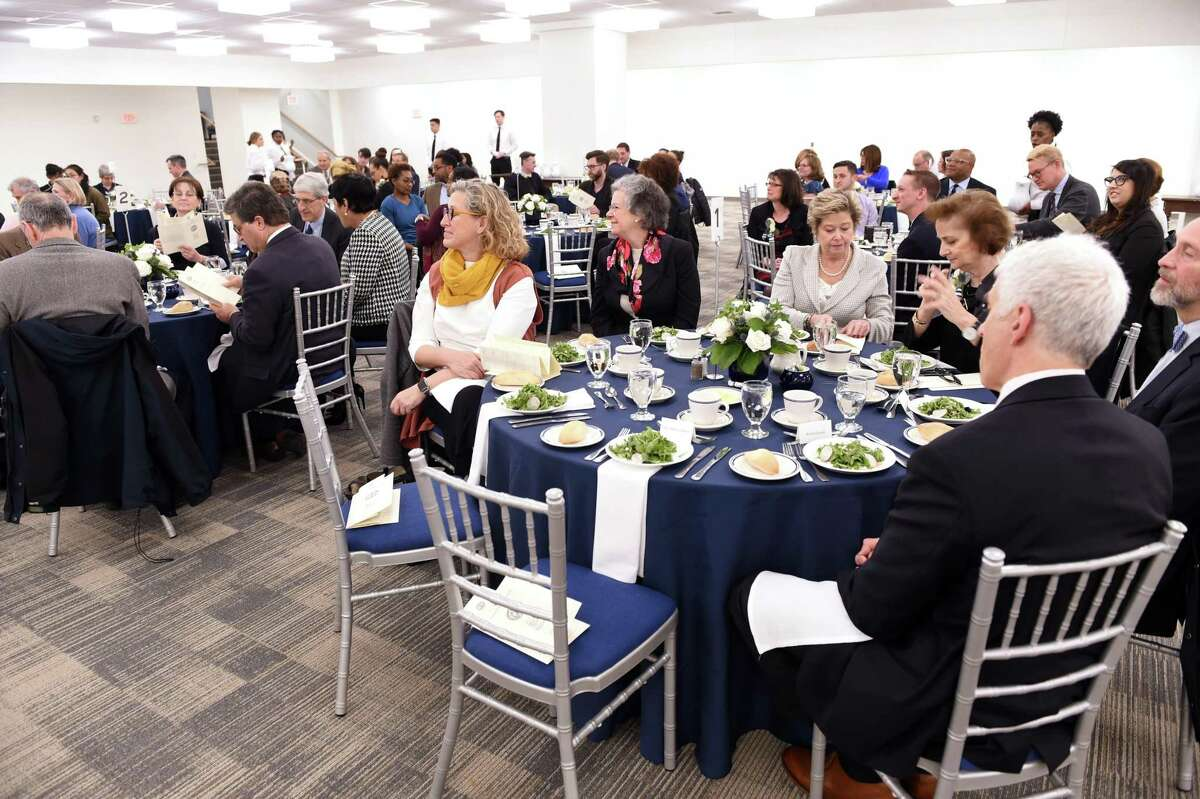 The annual Yale Seton Elm-Ivy Awards held in New Haven on April 11, 2019.